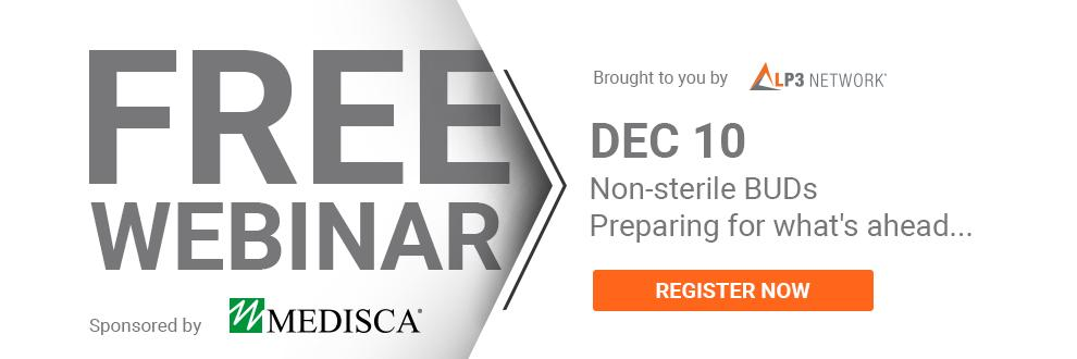 LP3 Network Free Webinar Non-sterile Beyond-use dates sponsored by Medisca