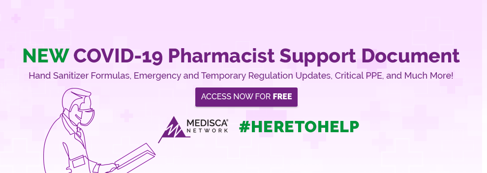 Medisca Network Pharmacist Support Document