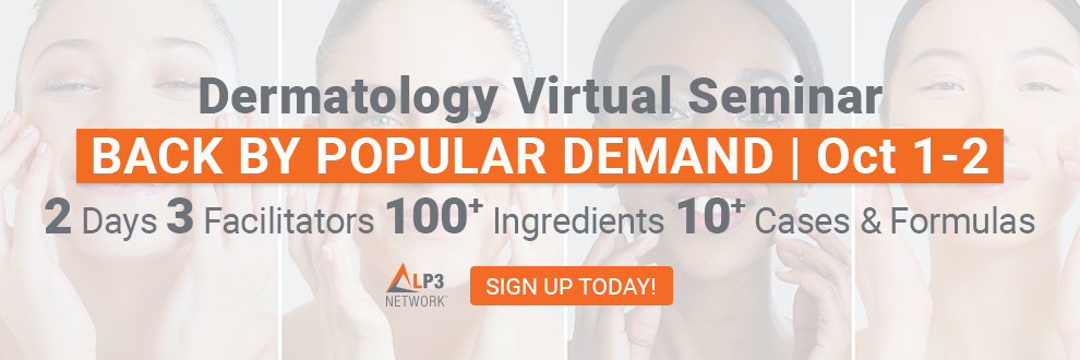 LP3 Network Clinical & Cosmetic Dermatology Live Virtual Seminar October 1-2 2020